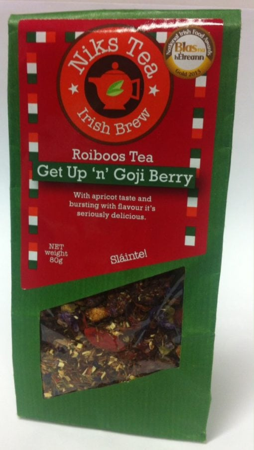 Get up and Gojo Berry Rooibos Tea