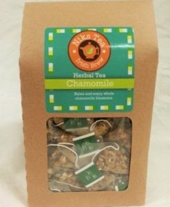 Organic Chamomile Blossoms Tea Bags