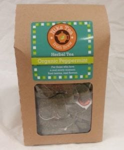 Organic Peppermint Leaves 50 Tea Bags