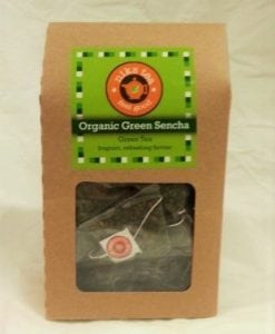 Organic Green Sencha Leaves