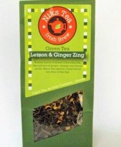 Lemon & Ginger Zing 80g