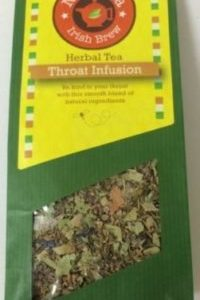 Throat infusion herbal tea