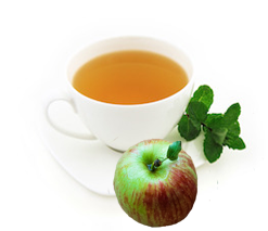 Apple Mint Herbal Tea