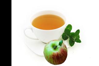 Apple Mint Herbal Tea
